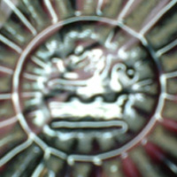 Davidson embossed lion + crown trademark.