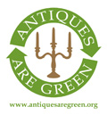 We support the aims and objectives of Antiques are Green.