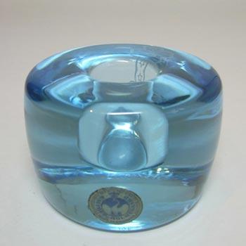 Holmegaard Glass Per Lutken 'Lagune' Candlestick Signed