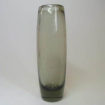 Holmegaard #18121 Per Lutken Smokey Glass Vase - Signed