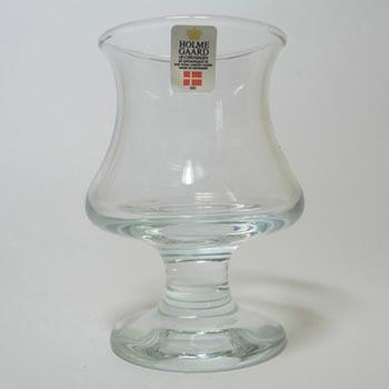 Holmegaard Danish 'Ships Glass' Cognac/Brandy - Labelled