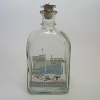 Holmegaard Danish Glass Bottle/Decanter - Labelled