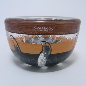 Kosta Boda Glass 'Tonga' Bowl - Signed Monica Backström