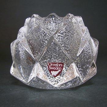 Orrefors Swedish Glass 'Nimbus' Candle Holder/Votive