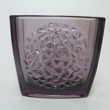 Sklo Union Rudolfova Purple Glass Vase - Rudolf Jurnikl