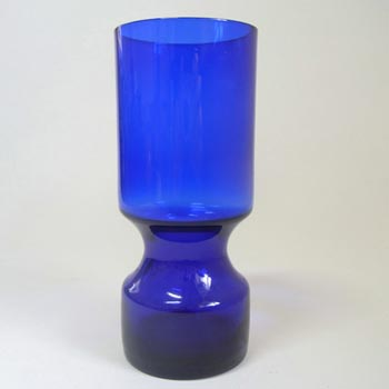 Alsterfors #AV229/16 Scandinavian Blue Glass Vase