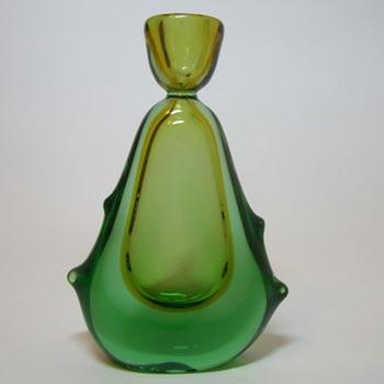Mstisov Czech Glass Candlestick 53105 - Frantisek Zemek