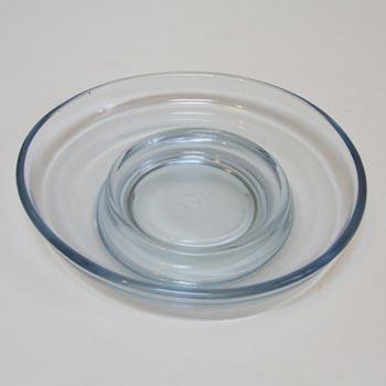 Holmegaard Per Lutken Aqua Blue Glass Bowl - Boxed