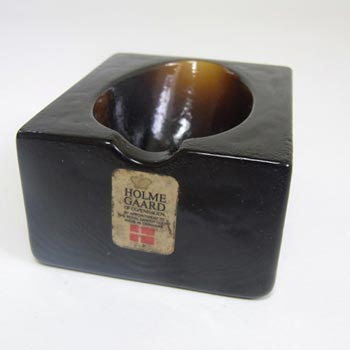 Holmegaard Pipe Rest in Brown Glass by Olsson & Rude #341 45 71