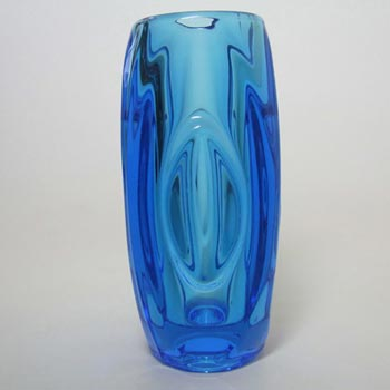 Rosice Sklo Union Glass Lens Vase Rudolf Schrötter #914