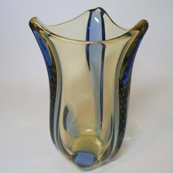 Czech Mstisov Glass Pizzicato Vase by Hana Machovská