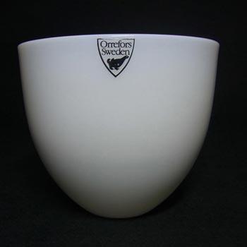 Orrefors Glass Lena Bergstrom Pastillo Bowl - Label + Box