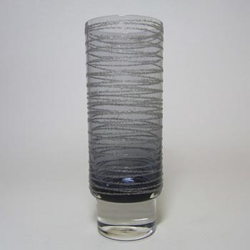 Sea Glasbruk 1970's Swedish Smokey Glass Vase - Rune Strand