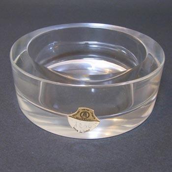 Seguso Vetri d'Arte Glass Bowl by Flavio Poli, Labelled