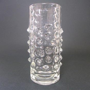 Sklo Union Hermanova Hut Glass Vase - Pavel Panek 1971
