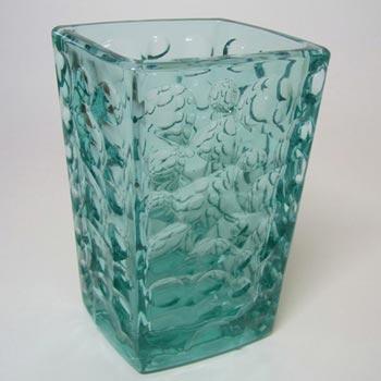 Rosice Sklo Union Turquoise Glass Vase Jiři Brabec 5122