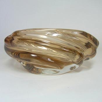 Skrdlovice #5637 Czech Glass 'Andromeda' Bowl by Jaroslav Beránek