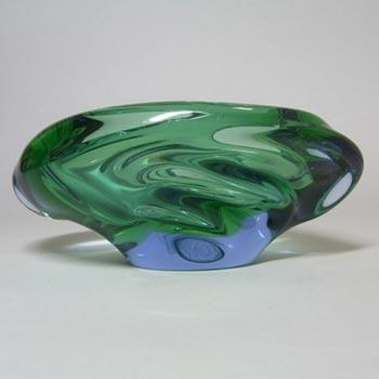 Skrdlovice #5455 Czech Glass 'Andromeda' Bowl by Emanuel Beránek