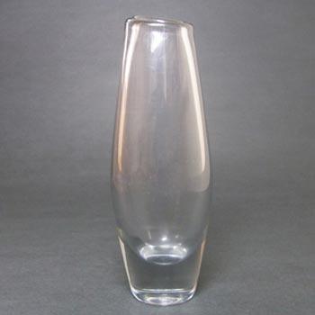 Orrefors Sven Palmqvist Glass Vase - Signed PU 3497