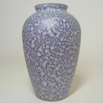 Royal Brierley Blue Glass 'Studio' Vase - Labelled