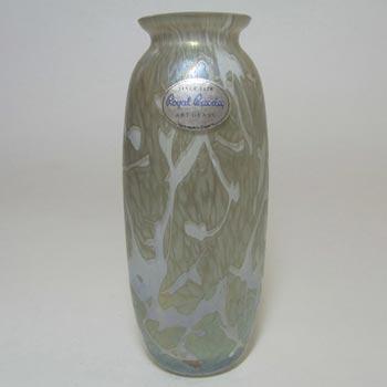 Royal Brierley Silver Glass 'Studio' Vase - Labelled