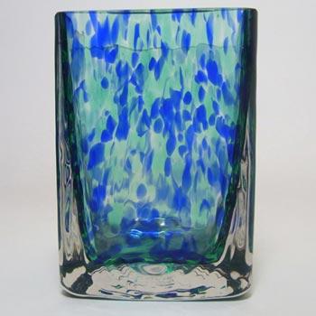 Wedgwood/Stennett-Willson Glass Speckled Vase - Marked