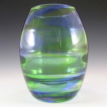 Stevens + Williams/Royal Brierley Glass 'Rainbow' Vase