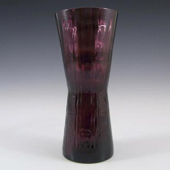 Alsterfors #AV422 Swedish / Scandinavian Purple Glass Vase