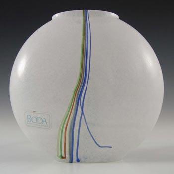 Kosta Boda Glass 'Rainbow' Vase - Signed Bertil Vallien #48224