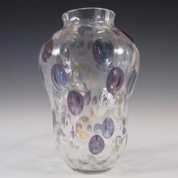 Borske Sklo 1950's Glass 'Nemo' Vase - Max Kannegiesser