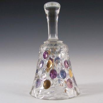 Borske Sklo 1950's Glass 'Nemo' Bell - Max Kannegiesser