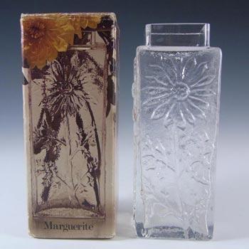 Dartington #FT228 Frank Thrower Glass Marguerite Vase - Boxed