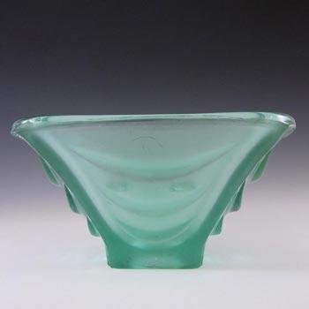 Sklo Union Hermanova Hut Glass Bowl - Vaclav Hanus #20035