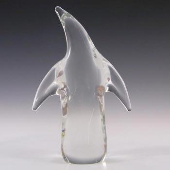 FM Konstglas/Marcolin Glass Penguin - Signed + Labelled