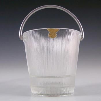 Gullaskruf Swedish Glass Ice Bucket - Lennart Andersson