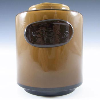 Holmegaard Palet Umbra Cased Glass Jar by Michael Bang