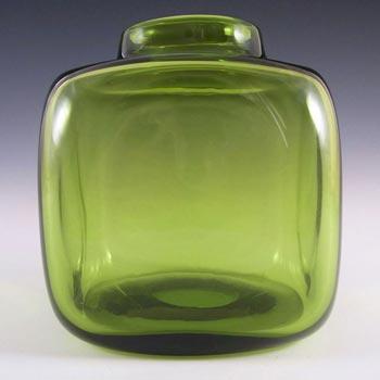 Holmegaard #18157 Per Lutken Green Glass 'Majgrøn' Vase - Signed