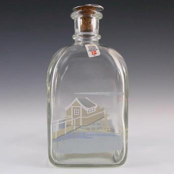 Holmegaard Glass 'Summer' Decanter by Michael Bang