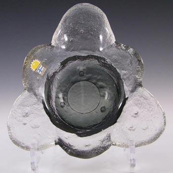 Humppila Smokey Glass Bowl by Pertti Santalahti - Signed