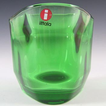 Iittala Green Glass Alfredo Häberli Candle Votive/Bowl
