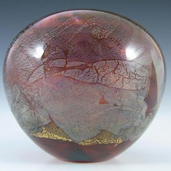 Isle of Wight Studio/Harris 'Azurene Pink' Glass Vase