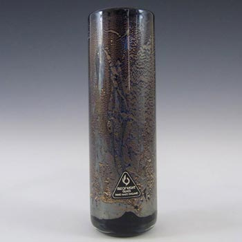 Isle of Wight Studio/Harris 'Azurene Black' Glass Vase