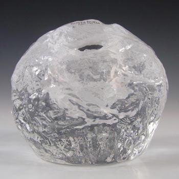 Kosta Boda Glass 'Snowball' Candle Votive - Ann Warff