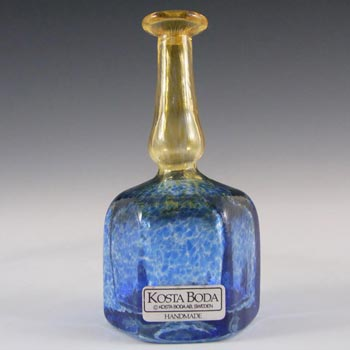Kosta Boda Swedish Glass Vase - Signed Bertil Vallien 48009