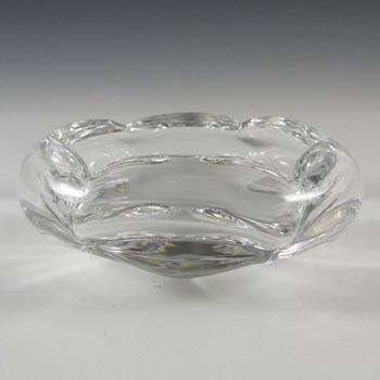 Orrefors 1950s Scandinavian Glass Polaris Bowl - Signed
