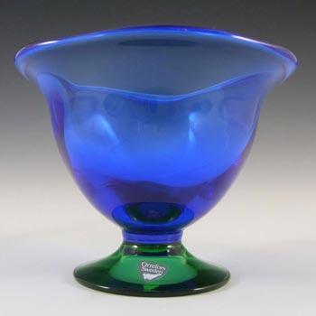 Orrefors Glass 'Louise' Bowl by Erika Lagerbielke - Label