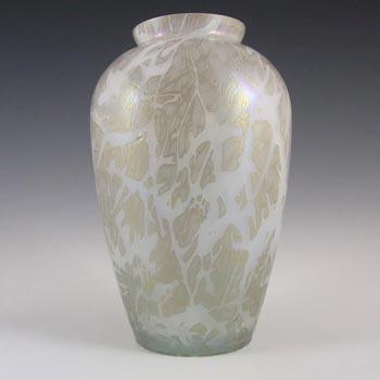 Royal Brierley Iridescent Glass 'Studio' Vase - Marked