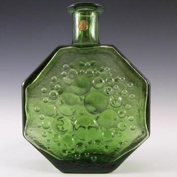 Riihimaki #1720 Riihimaen Green Glass Nanny Still 'Polaris' Vase