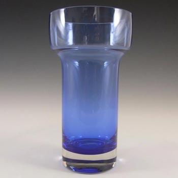 Riihimaki #1576 Riihimaen Lasi Oy Blue Glass Vase