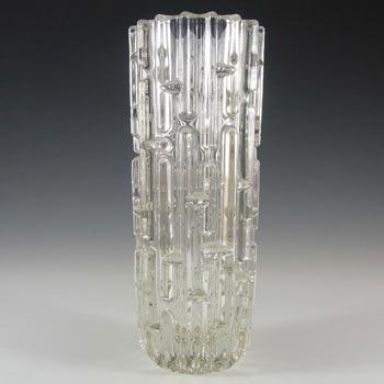 Sklo Union Rudolfova Hut Glass Vase - Frantisek Vizner